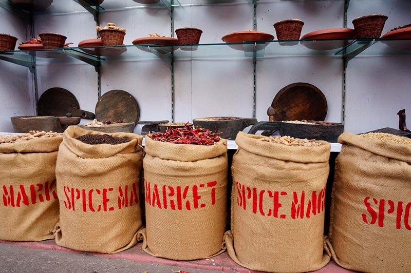 Форт Кочи - рынок специй