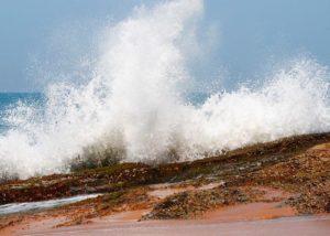 Фото волн на пляже Самудра
