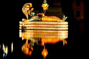 Фото саркофага в Шри Падманабхасвами